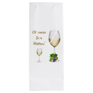 Of Course Size Matters Gift Bag