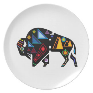 Of Many Patterns Plate