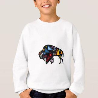 Of Many Patterns Sweatshirt