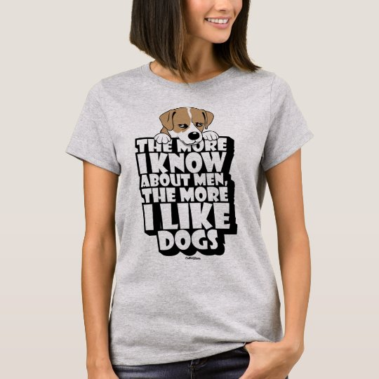 Of Men and Dogs Tshirt for women