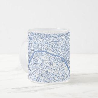 Of Paris cup of urban Pattern BLUE