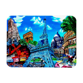 Of Paris magnet souvenir