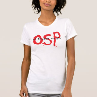 Of Shadow People OSP Ladies Camisole T-shirt