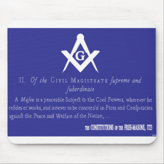 OF THE CIVIL MAGISTRATES MOUSE PAD