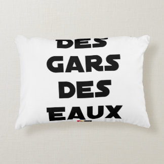 Of the Guy of Water - Word games - François City Accent Pillow