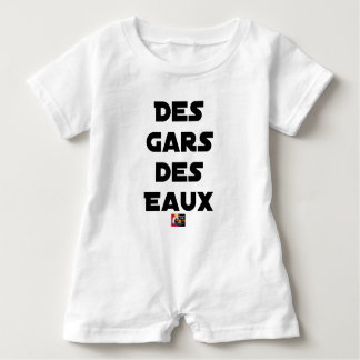 Of the Guy of Water - Word games - François City Baby Romper