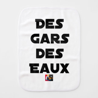Of the Guy of Water - Word games - François City Burp Cloth