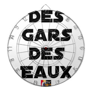 Of the Guy of Water - Word games - François City Dartboard
