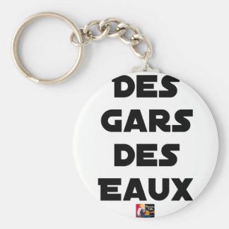 Of the Guy of Water - Word games - François City Keychain