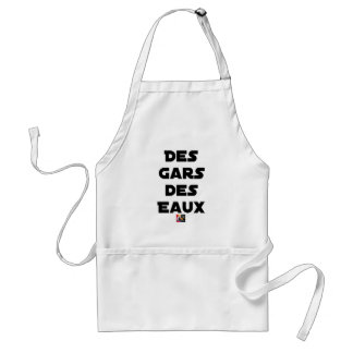 Of the Guy of Water - Word games - François City Standard Apron