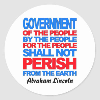 Of the People Classic Round Sticker