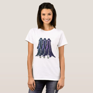 Of Three Realms Multi-Color Yoshiko x 3: Blue T-Shirt