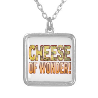 Of Wonder Blue Cheese Silver Plated Necklace
