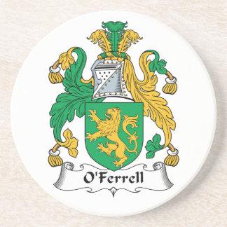 O'Ferrell Family Crest Coaster