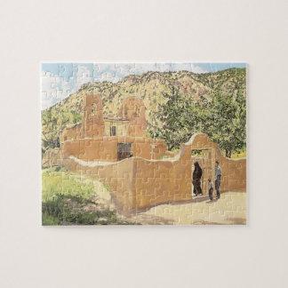 Oferta Para San Esquipula by Walter Ufer Jigsaw Puzzle