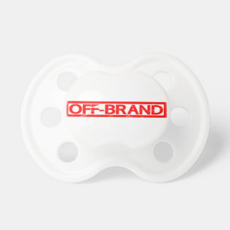 Off-brand Stamp Pacifier