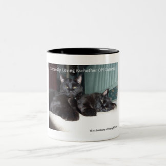 Off Camera Love Two-Tone Coffee Mug