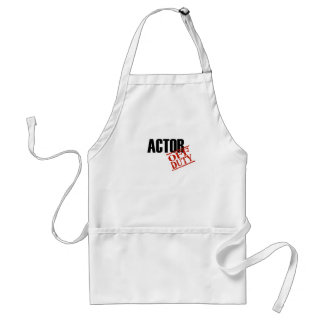 Off Duty Actor Standard Apron