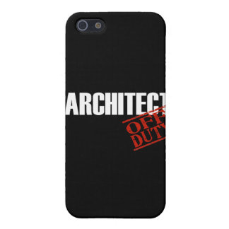 Off Duty Architect iPhone 5/5S Case