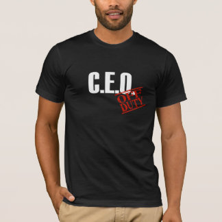 Off Duty CEO T-Shirt