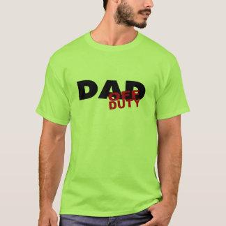 Off Duty Dad (Blk) T-Shirt