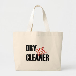 OFF DUTY DRY CLEANER LIGHT LARGE TOTE BAG