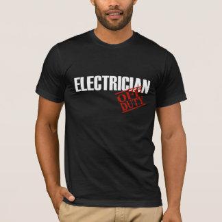 Off Duty Electrician T-Shirt