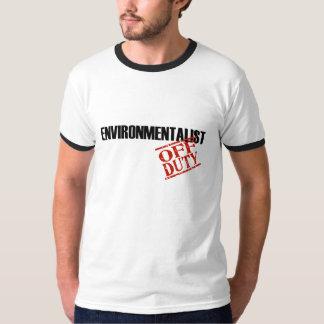 Off Duty Environmentalist T-Shirt