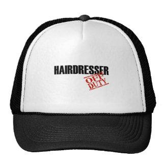 OFF DUTY HAIRDRESSER LIGHT HATS