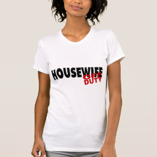 Off Duty Housewife (Blk) Tees