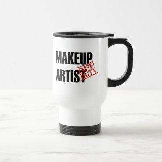 OFF DUTY MAKEUP ARTIST TRAVEL MUG