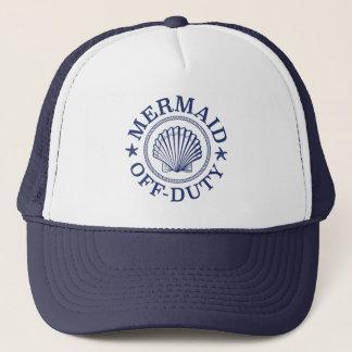Off Duty Mermaid Trucker Hat