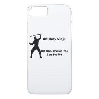 Off Duty Ninja iPhone Case