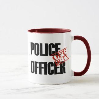 OFF DUTY Police Officer Mug