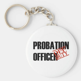 OFF DUTY PROBATION OFFICR LIGHT KEYCHAIN