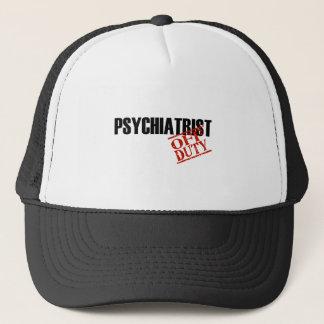 OFF DUTY PSYCHIATRIST LIGHT TRUCKER HAT