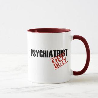 OFF DUTY PSYCHIATRIST MUG