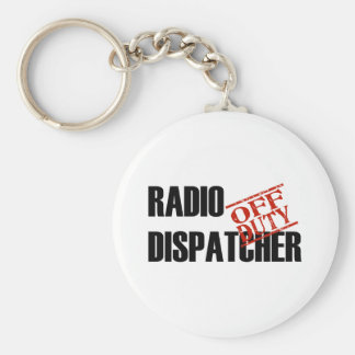 OFF DUTY RADIO DISPATCHER LIGHT KEYCHAIN