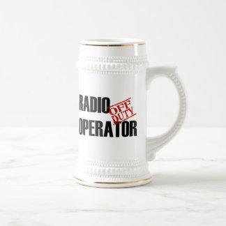 OFF DUTY RADIO OPERATOR BEER STEIN