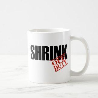 OFF DUTY SHRINK COFFEE MUG