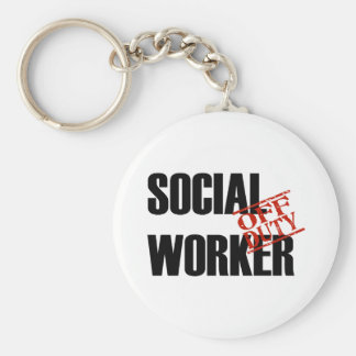 OFF DUTY SOCIAL WORKER LIGHT KEYCHAIN