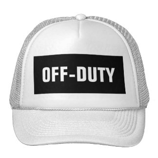 Off-Duty Trucker Hat