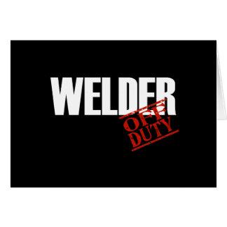 OFF DUTY WELDER DARK CARD