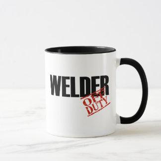 OFF DUTY WELDER MUG