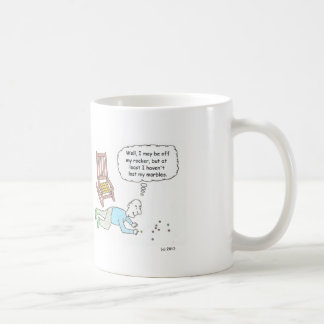 Off My Rocker Cartoon Mug