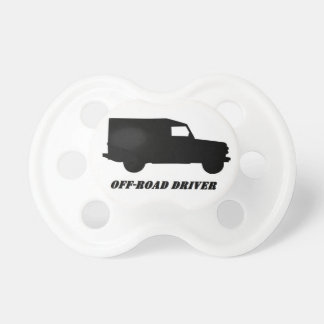 off-road driver pacifier