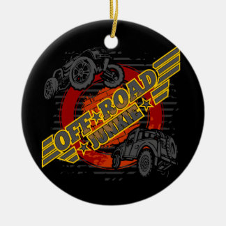 Off Road Junkie 4x4 Ceramic Ornament