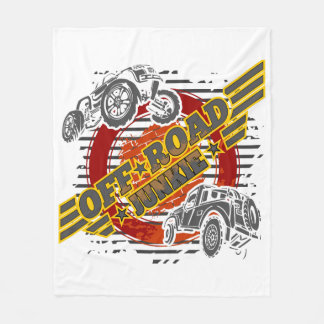 Off Road Junkie 4x4 Fleece Blanket