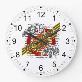 Off Road Junkie 4x4 Large Clock