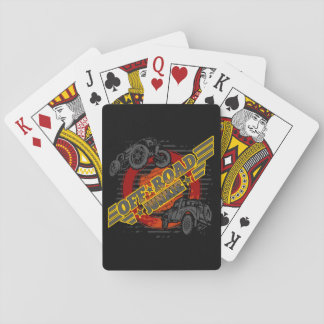 Off Road Junkie 4x4 Playing Cards